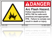 Arc Flash Hazard Labels
