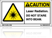 Laser Hazard Labels