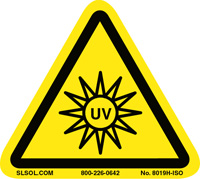UV Light Warning