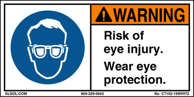 Risk of Eye Injury